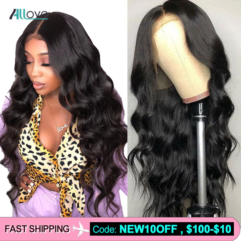 360 Lace Frontal Wig Allove Body Wave Lace Front Human Hair Wigs For Black Women Brazilian Lace Frontal Wig Remy Human Hair