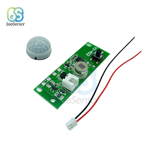 3.7V Solar Charging Circuit Board Night Light Control Sensor Module Infrared Solar Lamp Panel Circuit Board Three Light-on Modes