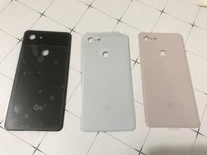 Image 3 - Задняя крышка Pixel3 XL для Google Pixel 3 XL, 6,3 дюймов, оригинальный корпус, задняя крышка, ремонт, замена, чехол для аккумулятора