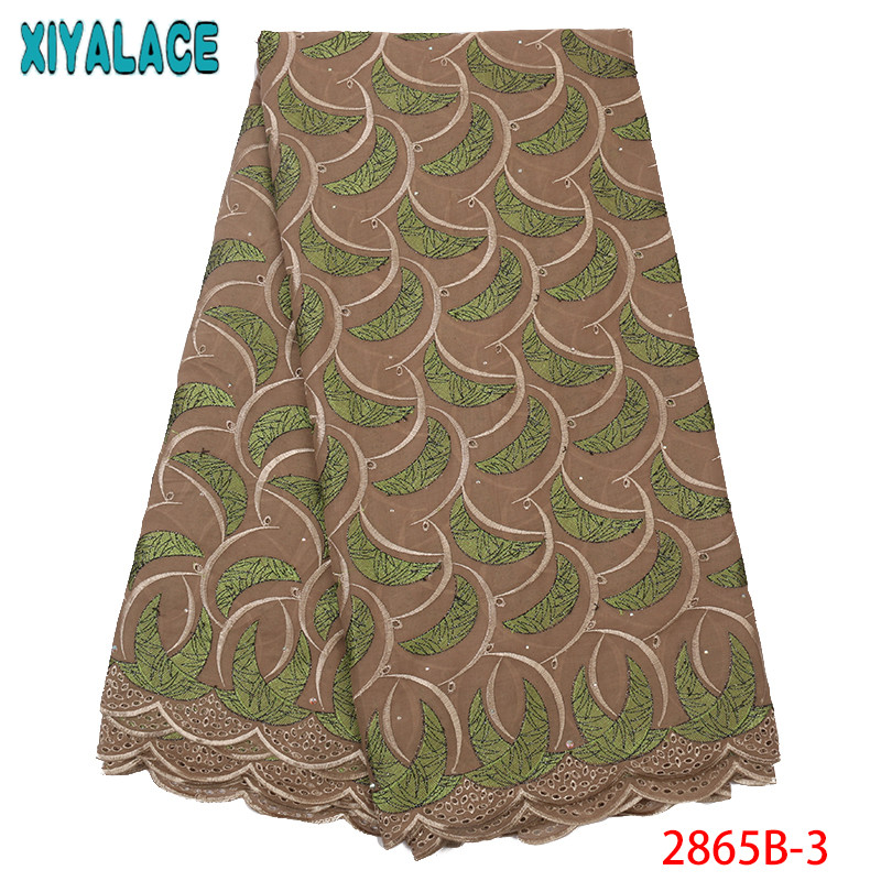 African Dry Cotton Lace Fabrics,High Quality Swiss Voile Lace In Switzerland Best Selling African Dresses For Wedding KS2865B-3