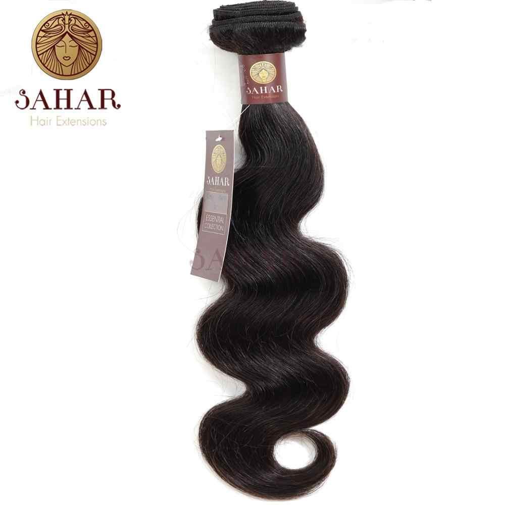 SAHAR 1 Parça Brezilyalı Vücut Dalga Saç Atkı % 100% Remy İnsan Saç Brezilyalı Saç Ücretsiz Kargo SHESW