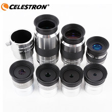 Celestron omni 4mm 6mm 9mm 12mm 15mm 32mm 40mm ocular e omni 2x barlow lente totalmente multi-revestido telescópio de astronomia de metal