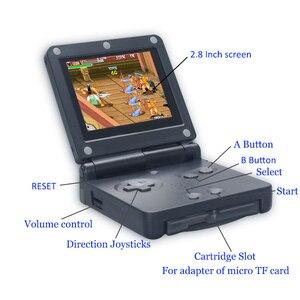 Image 4 - Retro mini estação de jogo 32 bit 268 clássico jogo handheld console suporte downlaoding jogos