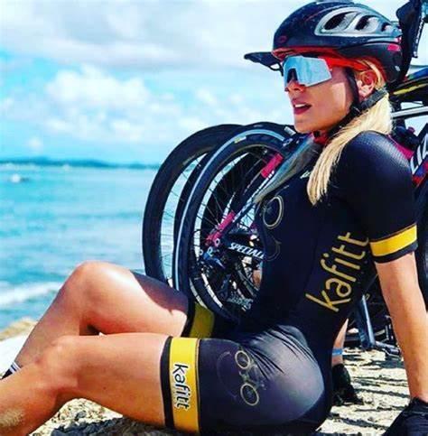 2020 equipe profissional das mulheres triathlon terno jérsei ciclismo skinsuit macacão maillot ciclismo roupas de manga longa conjunto 3
