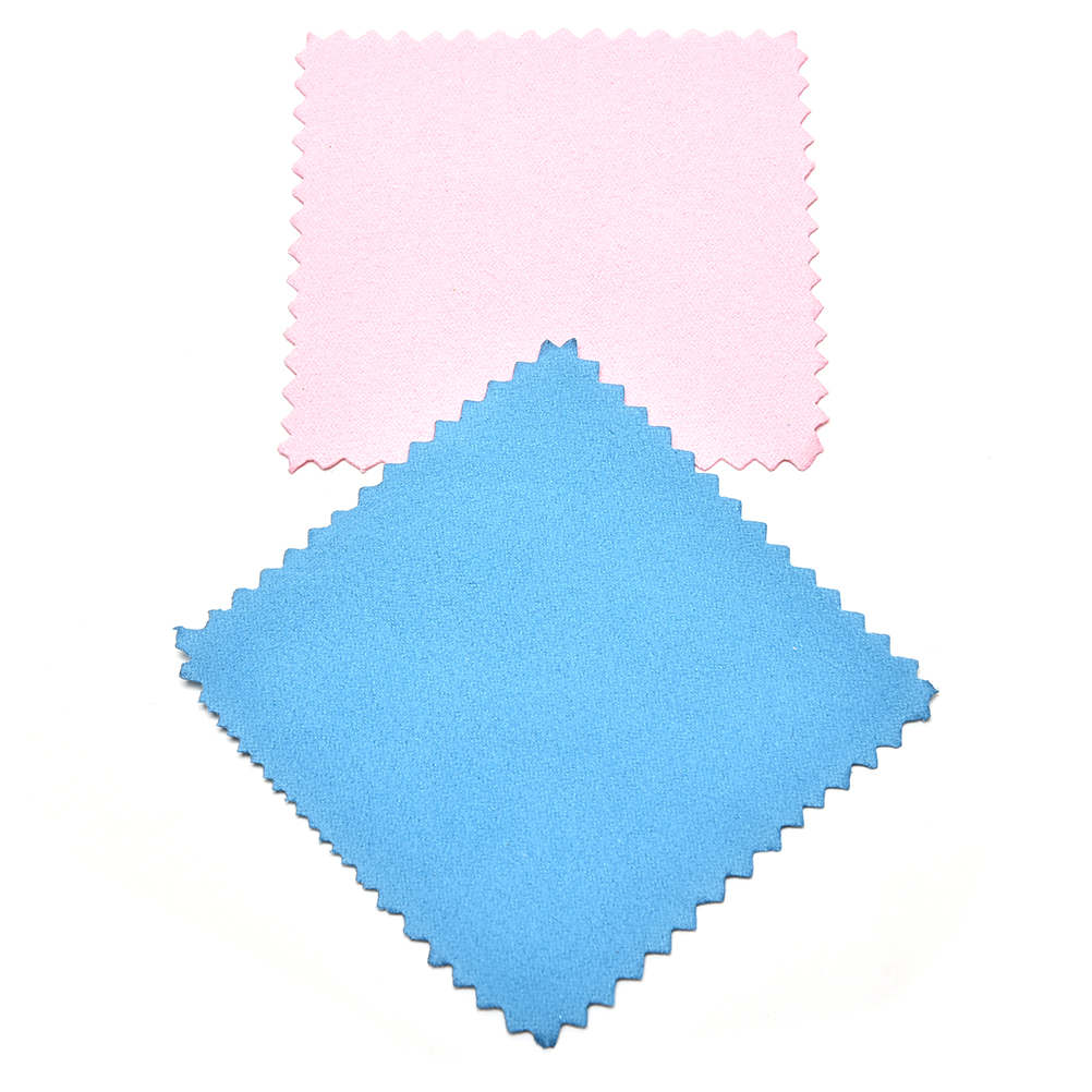 10Pcs Silver Ornaments Polishing Cloth Wipe Silver Jewelry Cleaning Cloth Useful Jewelry Tools Polishing Cloth