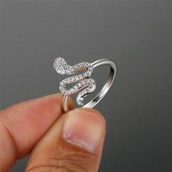 Bague Punk argent pour femmes, bague serpent, style Boho, couleur de fiançailles, style Vintage bijoux de mariage