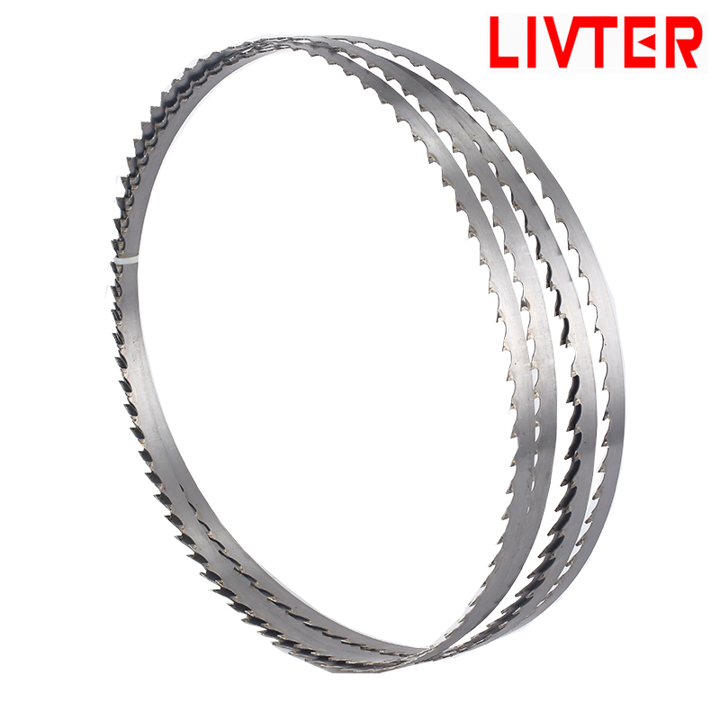 3pcs High Quality Factory Direct  Frozen Bone Meat Cutting Band Saw Blade With High Quality From Saw Mills Made By Alloy Steel