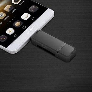 Image 3 - 2 в 1 USB устройство для чтения карт памяти Micro USB OTG к USB 2,0 адаптер для карт SD/Micro SD TF кардридер для Android Phone Tablet PC