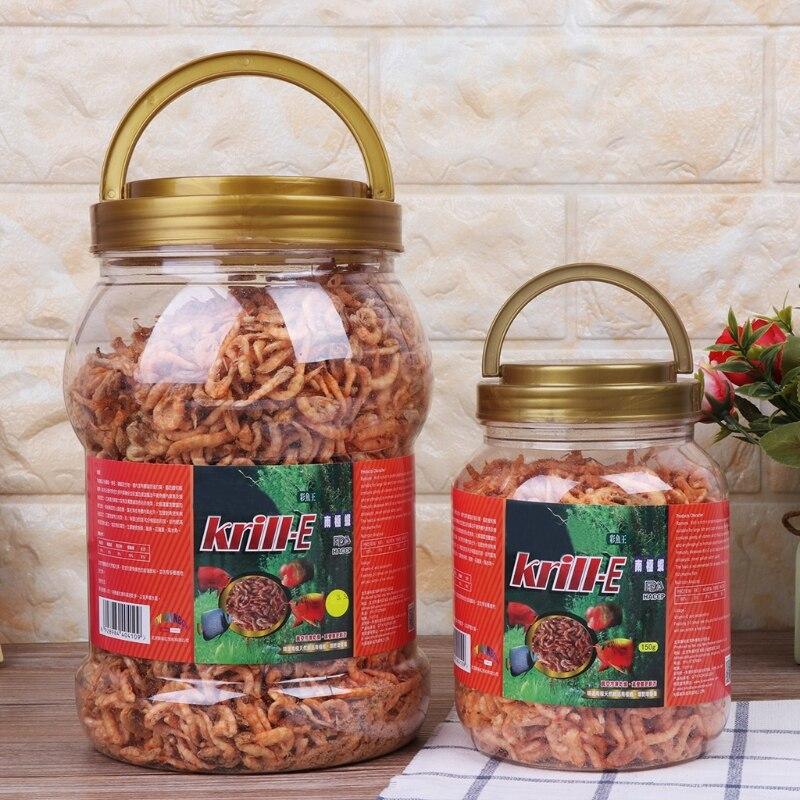 Tropical cichlid Turtle Food Aquarium Fish Foods Feeding Freeze Dried Shrimp| Fish & Aquatic Supplies Parts|   - AliExpress