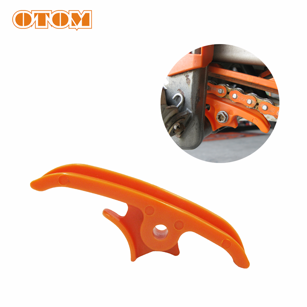 OTOM Swingarm Off Road Motorcycle Chain Slider Sliding Guide With Brake Hose Clamp For KTM SX SXF XC 125 150 250 <font><b>300</b></font> image