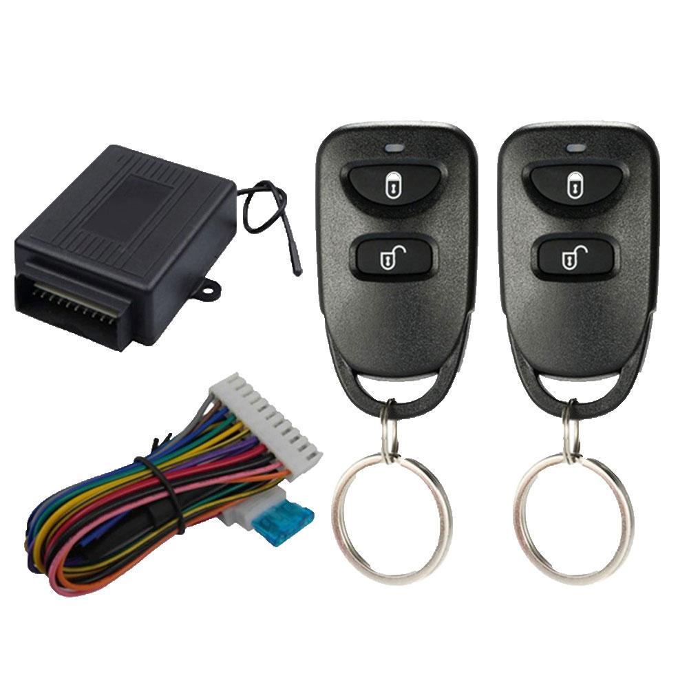 Serrure de porte de véhicule de voiture système dentrée sans clé télécommande Kit de verrouillage Central verrouillage à distance déverrouiller alarme antivol de voiture pour voiture
