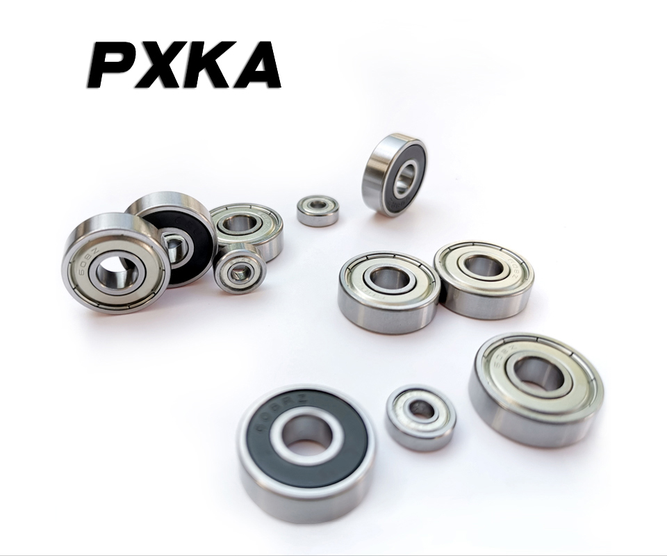 Free Shipping 2PCS Non-standard Bearing 6203-1 / 2 2RS1 6203-8 2RS 6203 / 12.7 12.7 * 40 * 12mm, 6202 / 13-2RS 13 * 35 * 11mm