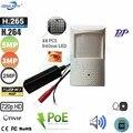 Geniuspy TF слот для карт 720P 960P 1080P 3MP 5MP 940NM IR сетевая Скрытая POE ip-камера POE P2P камера безопасности с аудио и ИК-фильтром