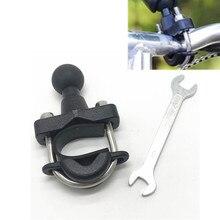 Motorcycle Handle Bar Rail Mount 37Mm Breedte U Bout Montage Basis Met 1 Inch Bal Voor Gopro Gps werk