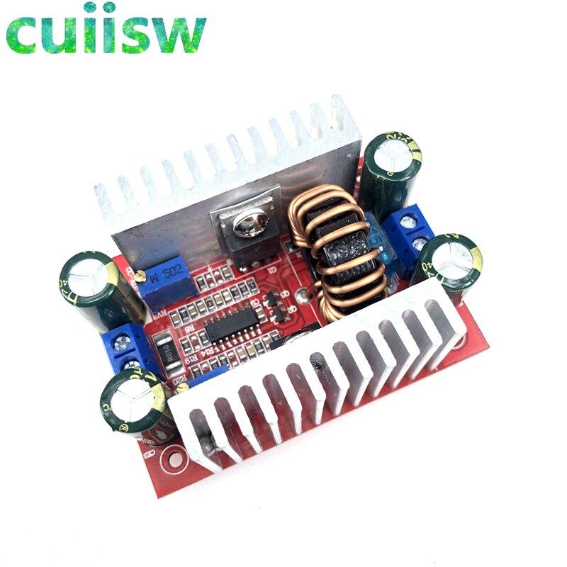 400W 15A DC-DC повышающий преобразователь постоянного тока Step Up трансформаторный источник энергии Напряжение регулятор постоянной мощности теп...