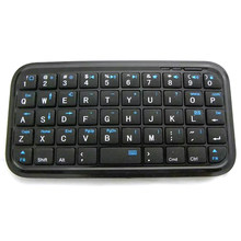 Bolsillo Mini teclado Bluetooth para Iphone 4/4S/5/Ipad 2 3 4 sistema Android/Samsung/Sony Ps4(China)