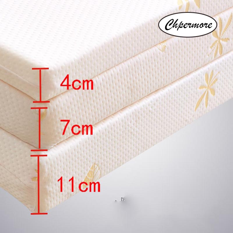 Chpermore Thicken Memory Foam Mattress Foldable Slow rebound Tatami Cotton Mattress Cover Bedspreads King Queen Twin Full Size 5