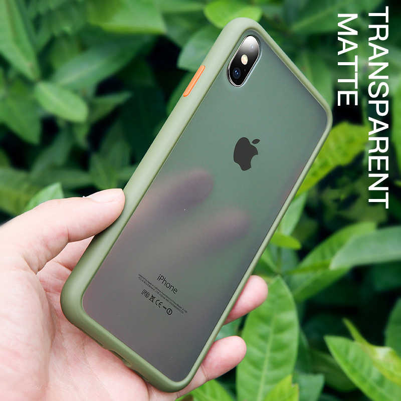 שקוף מט צבע מסגרת טלפון מקרה עבור Xiaomi Redmi CC9 CC9E A3 9 הערה 6 7 7S 7A 8 8A 8T K20 9 9T 10 Pro Lite