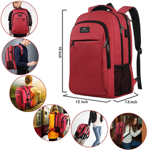 """Image 5 - Matein Brand USB Charging female Backpack Anti theft 15.6""""Laptop business Backpack Bag Women school bag Traveling Bags for girl"""