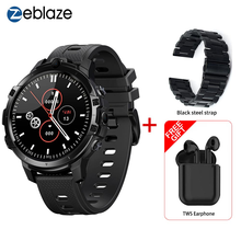 Флагманские Смарт-часы Killer Zeblaze THOR 6 4G Helio P22 Восьмиядерный процессор 4 Гб + 64 ГБ Android 10 разблокировка по лицу GPS Смарт-часы телефон