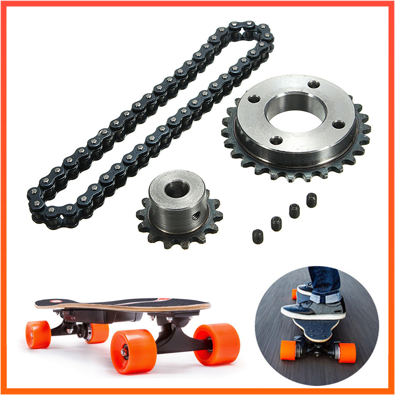 DIY Sprocket Chain Wheel For Electric Longboard 8044 Skateboard Repalcement Part Skateboard Replace Part