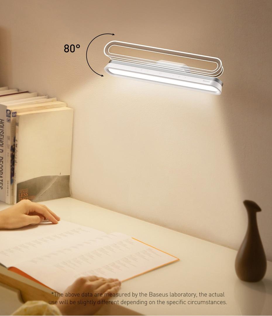 Baseus Magnetic Stepless Dimming Charging Desk Lamp Pro 3