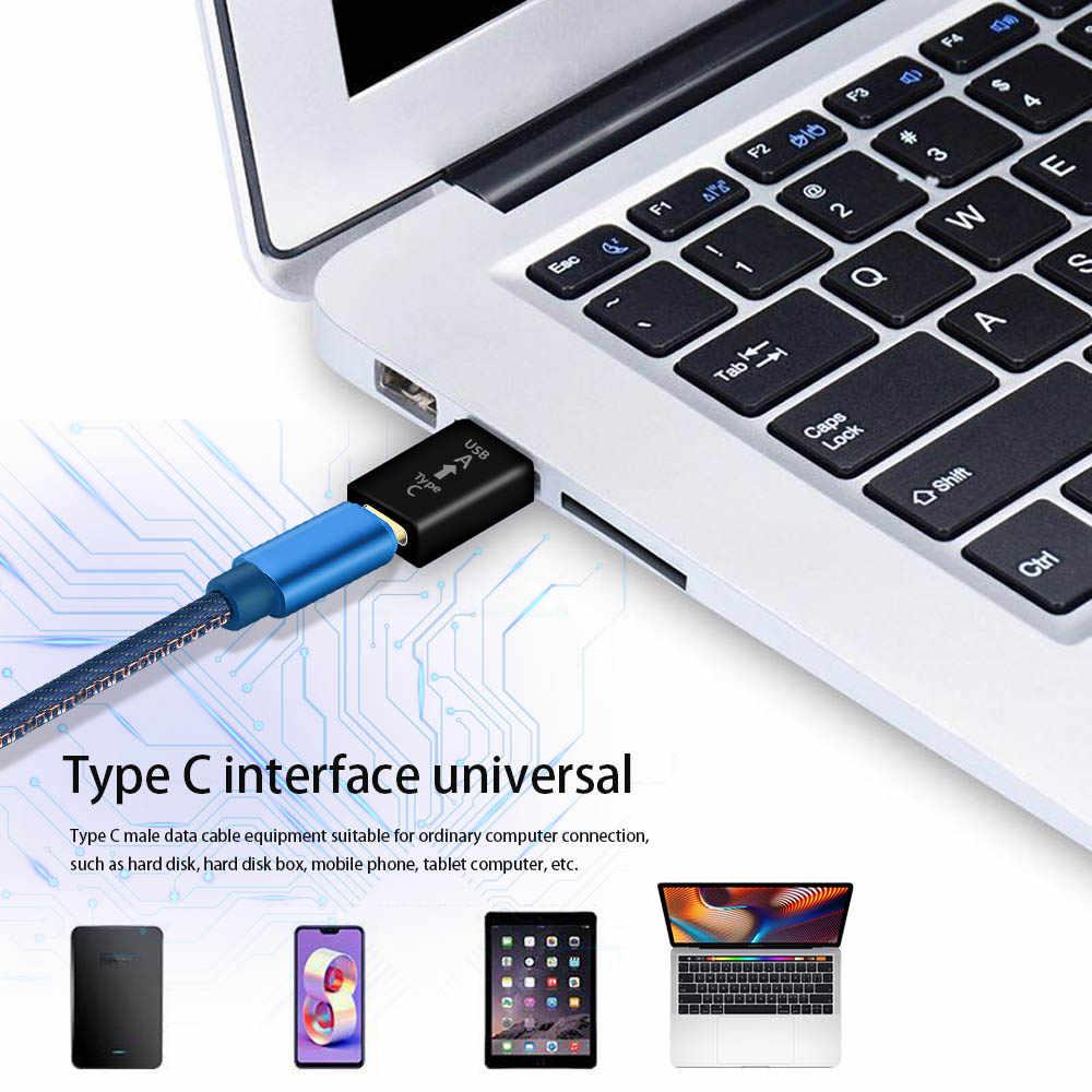 แปลงOTGอะแดปเตอร์USB CสายUSB Type CถึงUSB 3.0 สำหรับOnePlus 7T Huawei P30 Xiaomi Samsung s20 S10 S9 PLUS Type-C