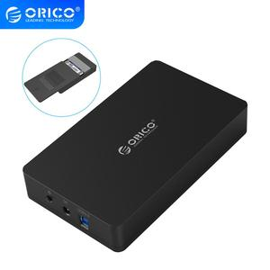 ORICO 3569S3 3.5 Inch Hard disk Box SATA To USB 3 HDD/SSD Case Tool Free Support UASP Protocols 6Gbps 16TB Hard Drive Enclosure