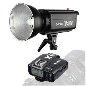 Студийный светильник Godox DP400II, беспроводной стробоскоп-светильник, 400 Вт, 2,4G, 400ws, GN65 Pro, светильник для фотосъемки, светильник