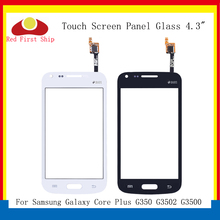 10Pcs/lot TouchScreen For Samsung Galaxy Core Plus G350 G3502 G3500 Touch Screen Digitizer Panel Sensor Front Glass Outer Lens стоимость