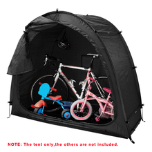 Bike-Tent Shed Bicycle-Storage Window-Design with for Outdoors Camping 190T