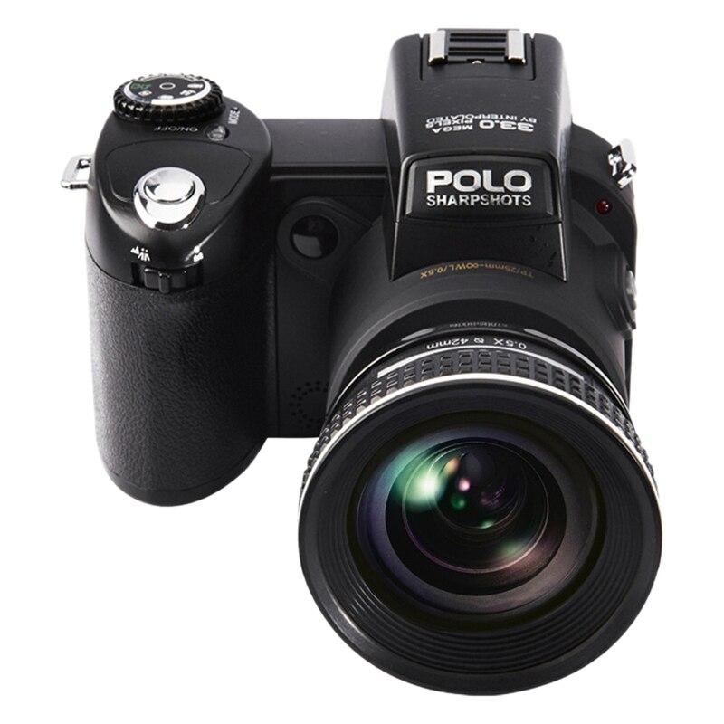 Polosharpshot caméra Autofocus 1080P Full HD caméra vidéo numérique 33 MP 100 degrés Ultra grand Angle objectif (prise ue)