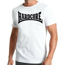 Hardcore T-Shirt | Rock n Roll And Hip Hop Rap Music Aggressiv2019 fashionable Brand 408%cotton Printed Round Neck T-s