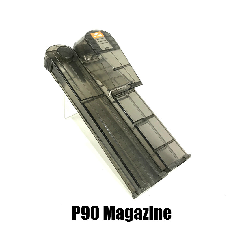 Electric P90 MAG Graffiti Edition Toy Gun Accessories Live CS Assault Snipe Simulation Weapon Outdoor Soft Water Bullet Gun Toys