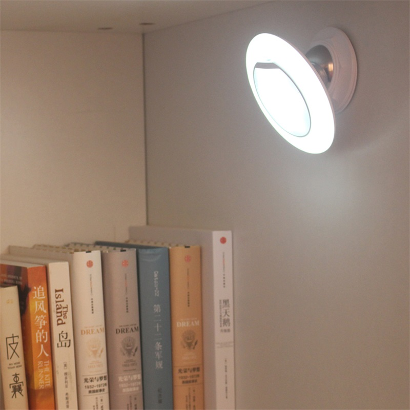 USB Rechargeable Smart PIR Human Body Motion Induction Sensor Switch LED Night Light Bedside Kids Bedroom Corridor Wardrobe Lamp