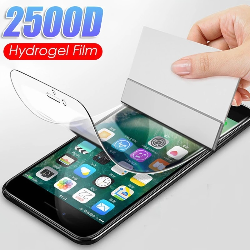 Гидрогель пленка для iPhone 11 7 8, 6, 6s, Plus, 5, 5S SE Защитная пленка для экрана для iPhone X XS XR 11 Pro Max мягкая защитная пленка не стекло Защитные стёкла и плёнки для телефонов      АлиЭкспресс