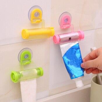 1 pc Plastic Toothpaste Squeezer Bath Toothbrush Holder Tube Rolling Holder Squeezer Toothpaste Dispenser Tool недорого