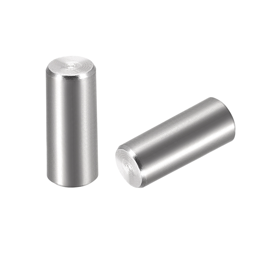 2Pcs 10mm X 45mm Dowel Pin 304 Stainless Steel Cylindrical Shelf Support Pin
