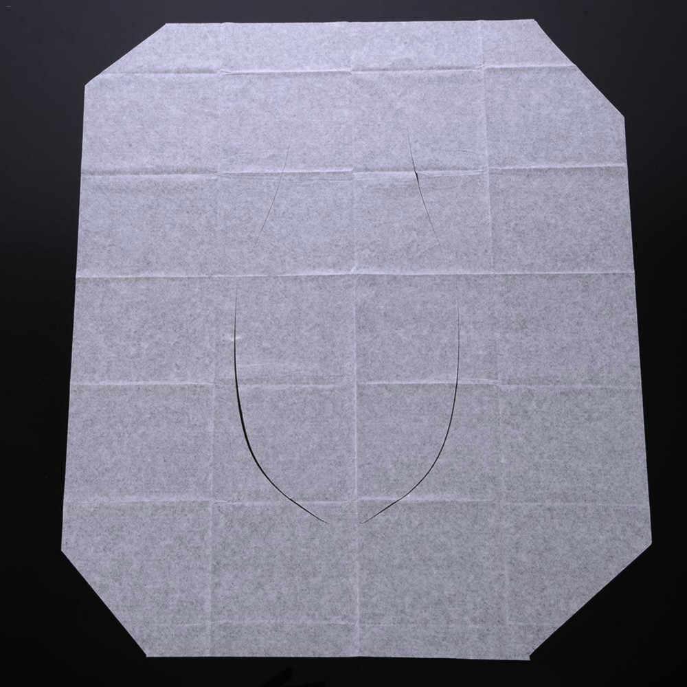 1/5/10 ชิ้น/แพ็ค Disposable สุขาที่นั่งห้องน้ำกระดาษ Pad สำหรับ Camping ห้องน้ำอุปกรณ์เสริม @ 2