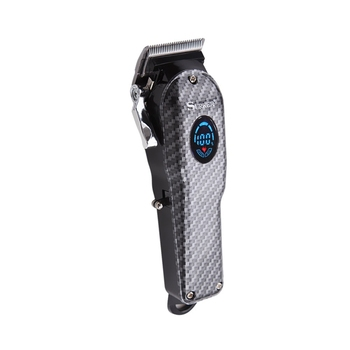 SURKER SK-807B Electric Clipper Oil Head Hair Clipper In-Line High Power Mute Hair Clipper Men 'S Hair Cutting Kit(Black)
