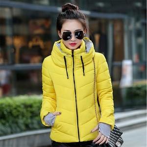 Image 3 - חורף מעיל נשים חדש 2020 סתיו חם למטה מעיל נשי ארוך מעיילי גדול גודל XXXL נשים חורף מעילים להאריך ימים יותר