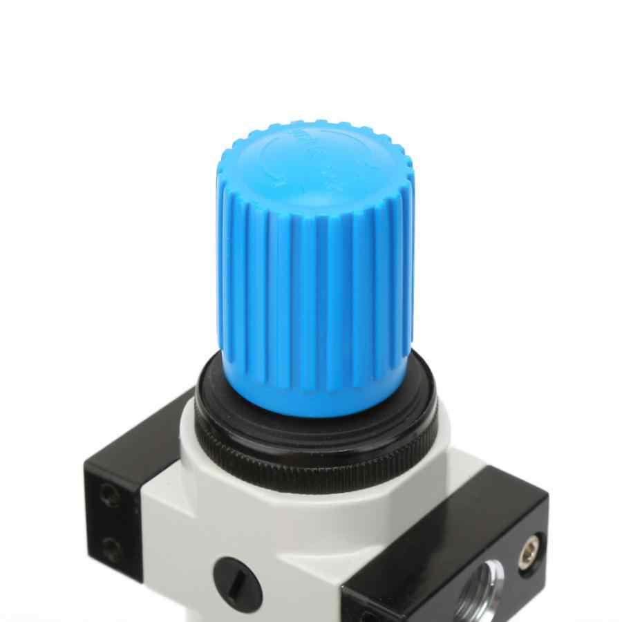 الألومنيوم سبائك G1/4 ''فلتر الهواء صمام تخفيض الضغط منظم الهواء الهوائية 1.6Mpa فراغ ضغط متر مقياس المانومتر