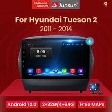 Junsun V1 pro 2G + 128G Android 10 pour ix35 Hyundai Tucson 2 2009 - 2015 autoradio multimédia lecteur vidéo GPS 2 din dvd
