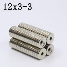20/100/200 Pcs 12x3-3 Neodymium…