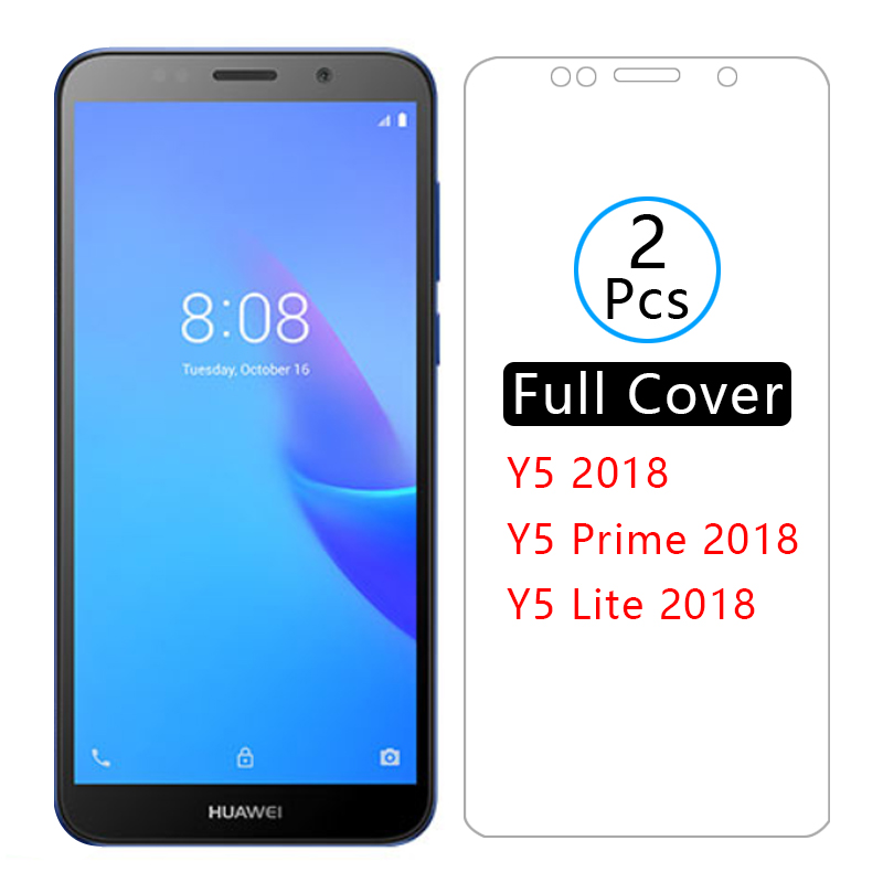 <font><b>case</b></font> for <font><b>huawei</b></font> y5 <font><b>2018</b></font> cover tempered glass screen protector coque on huawey huwei hawei huawai <font><b>y</b></font> <font><b>5</b></font> 5y y52018 prime lite light image
