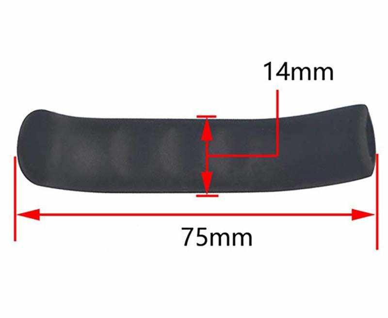 Anti-slip E Confortevole Maniglia del Freno Custodia In Silicone Bici Da Strada di Montagna Mosca Morta di Tipo Universale Leva del Freno Coperchio di Protezione