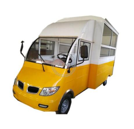 New Arrive ! Hot Sale Solar Energy Electric Food Kiosk Design Food Truck Trailer Ice Cream Food Cart