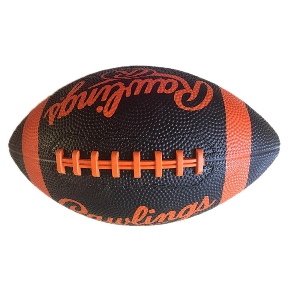 HobbyLane Outdoor Entertainment Supplies American Size 7 Durable Wear Training Rubber Rugby Ball Football Color Random Hot Sale