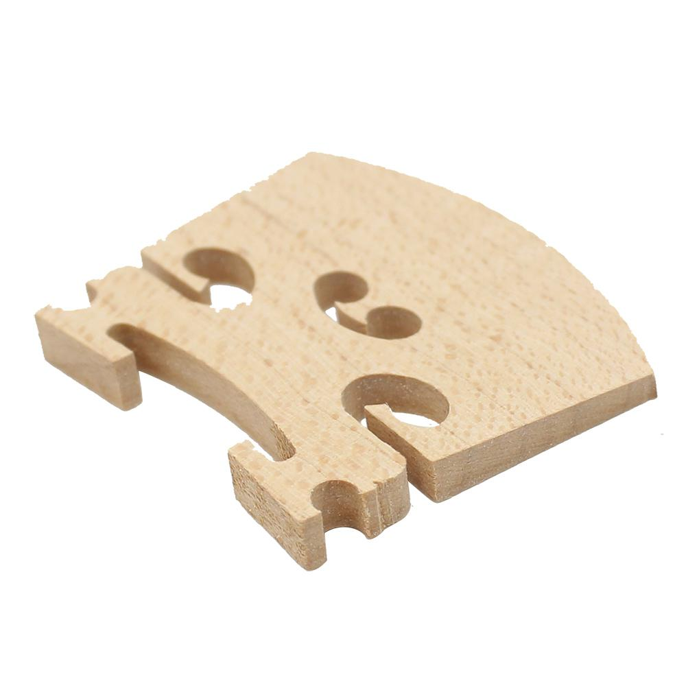 Dragonpad Violin Bridge Maple Wood Material Violin Code For 4/4 3/4 1/2 1/4 1/8 Size Violin Instrument Accessory
