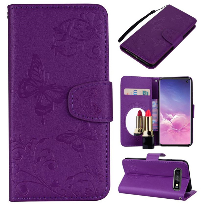 Girl Lady <font><b>Flip</b></font> <font><b>Phone</b></font> <font><b>Case</b></font> For <font><b>Sony</b></font> <font><b>Xperia</b></font> XA1 Ultra XZ1 XZ2 <font><b>XZ3</b></font> Makeup <font><b>Mirror</b></font> Features Wallet <font><b>Stand</b></font> Card Slot Cover D96Z image